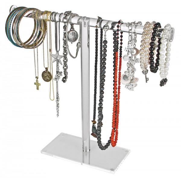 Support en T pour bijoux