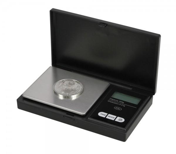 Balance numismatique au 1/100è de g