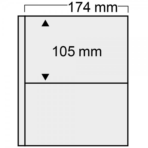 """Feuille """"Compact"""" pour FDC de France 165 x 95 mm"""