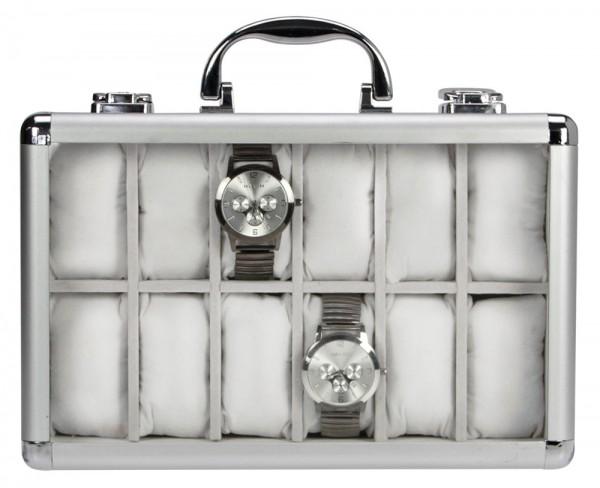 Mallette en aluminium pour 12 montres