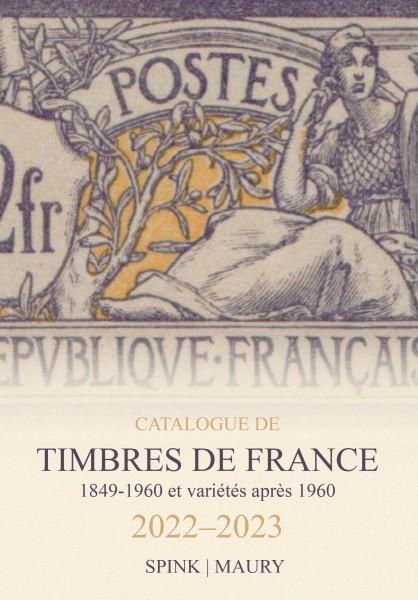 Maury Catalogue des timbres de France Edition 2022