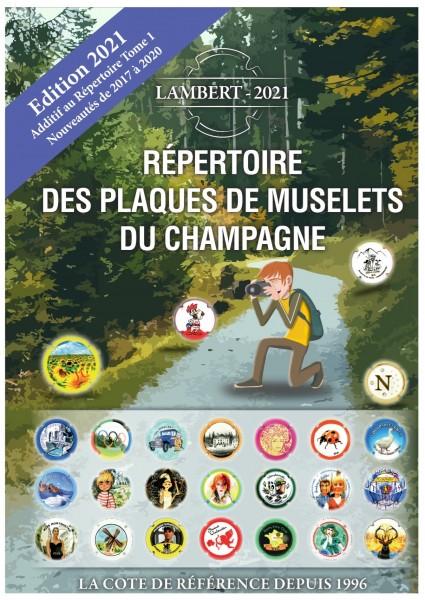 Additif Répertoire Lambert 2021