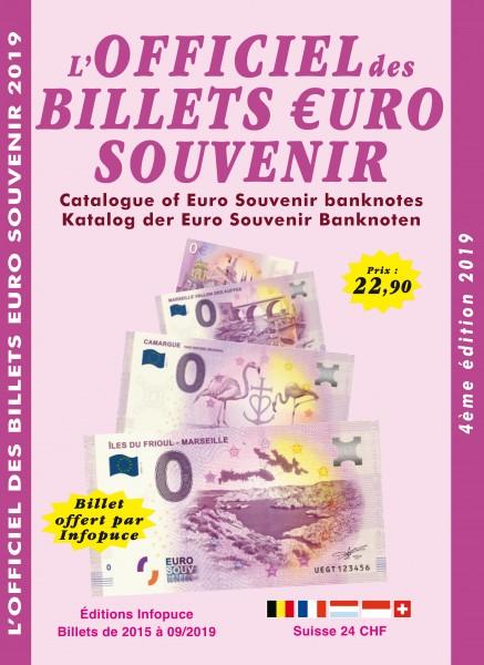 L'Officiel des Billets €uro Souvenir éd. Infopuce 2020