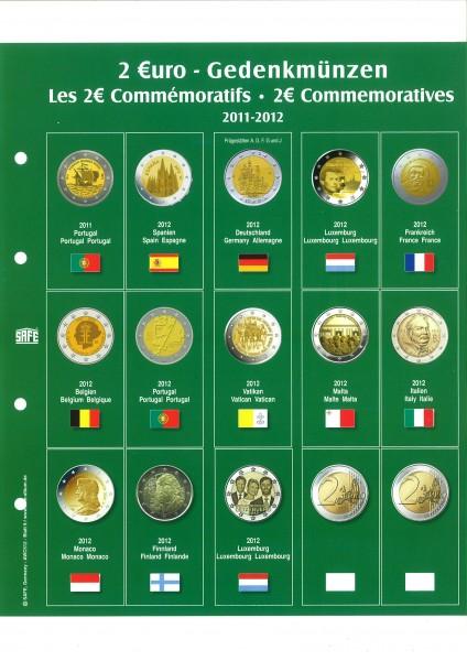 """Feuille """"Premium"""" 2 € - 2012"""
