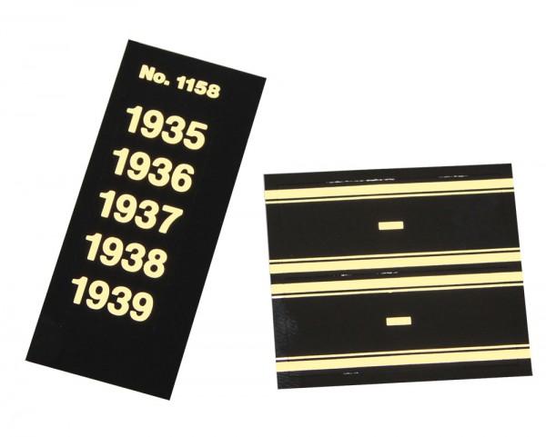 Signettes-années 1840 à 1999 pour albums philatéliques