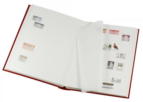 Classeur pour timbres, 48 pages fond blanc