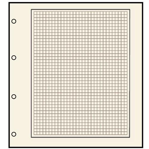 Feuilles neutres Compact A4 - 491