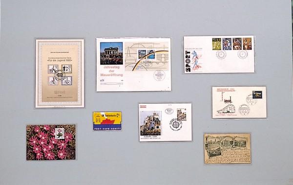 Etuis plastique pour cartes, enveloppes, billets, documents