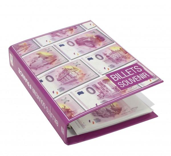 Album Billets €uro Souvenir France 2015 à 2018