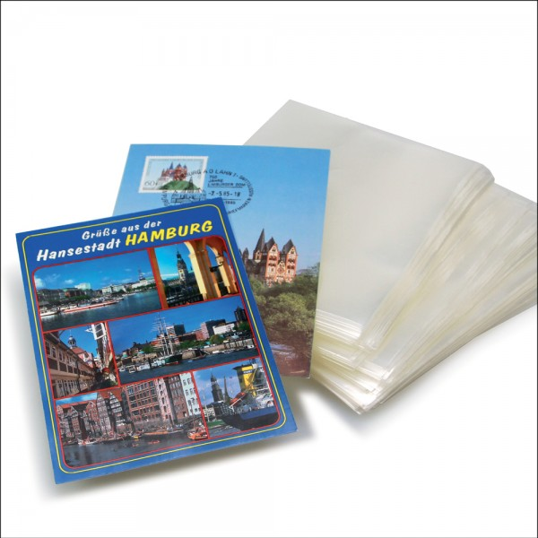 300 étuis pour cartes postales 10,5 x 15 cm