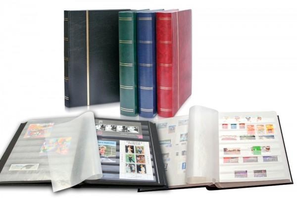 Classeurs pour timbres 60 pages fond noir