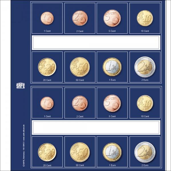 """Intercalaires """"Designo"""" séries d'Euros"""