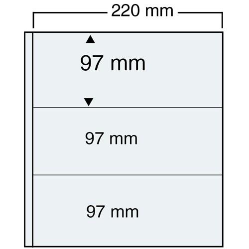 Feuille transparente Compact A4