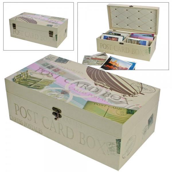 Box en bois pour photos