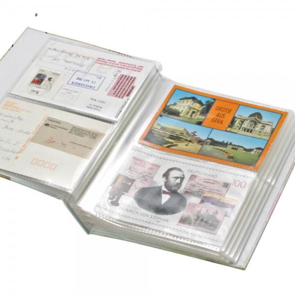 """Album """"rétro"""" pour 200 cartes postales"""