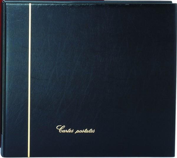 """Reliure """"Standard"""" noire pour cartes postales"""