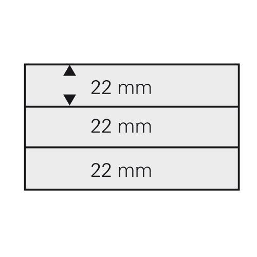 Cartes 148 x 105 mm à 3 bandes