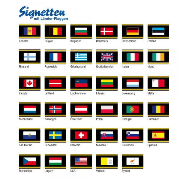 Signette-drapeau Chypre