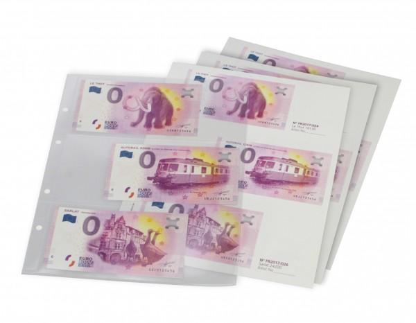 """Feuilles """"neutres"""" pour Billets €uro Souvenir"""