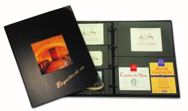 L'album « Bacchus » pour étiquettes de vin