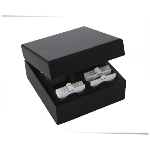 Box en bois pour monnaies sous étui