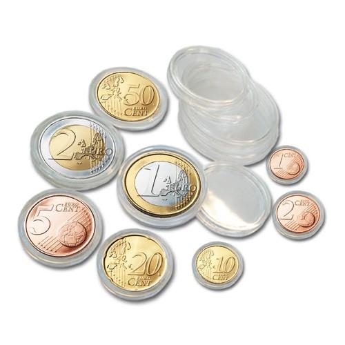2 Boîtes de 40 capsules pour séries d'€uros