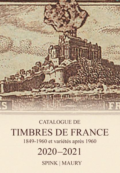 Catalogue des Timbres de France éd. Spink-Maury 2020