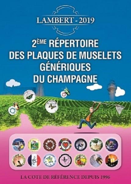 Répertoire des Plaques de muselet génériques du Champagne 2019