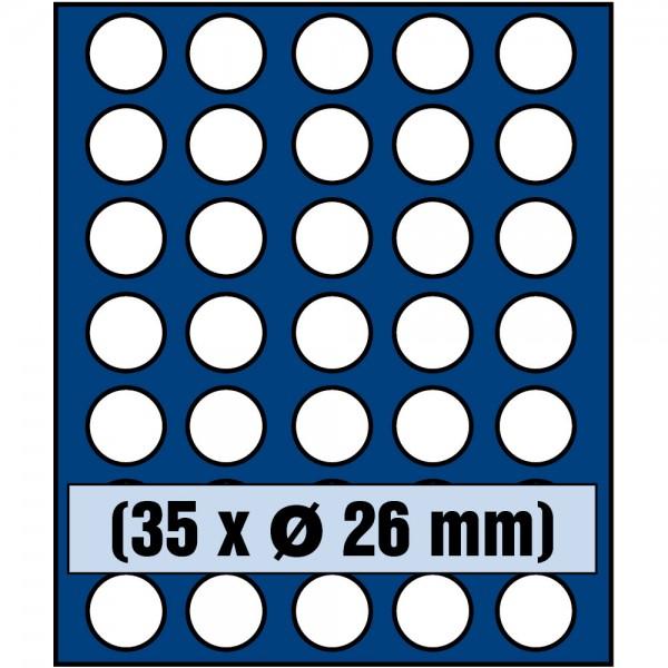 Plateau pour monnaies 6326SP