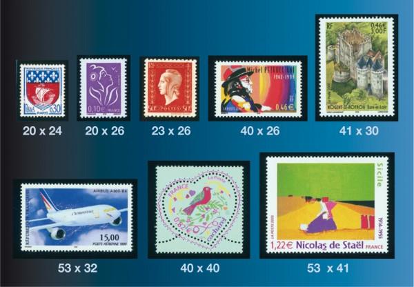 Pochettes id-Hawid pour timbres de France