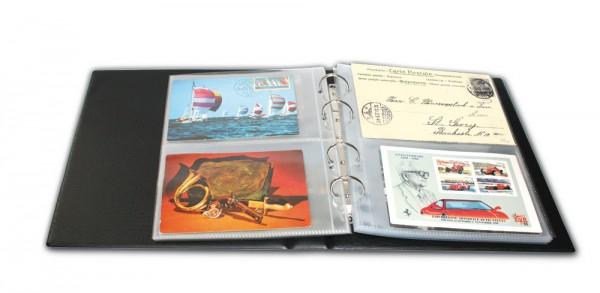 Feuilles pour album cartes 7335