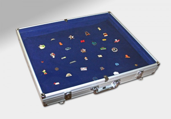 Vitrine grand format pour pin's et insignes