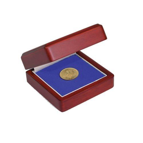 Ecrin en bois pour monnaies 7910