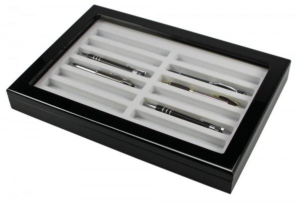 Vitrine en bois pour stylos