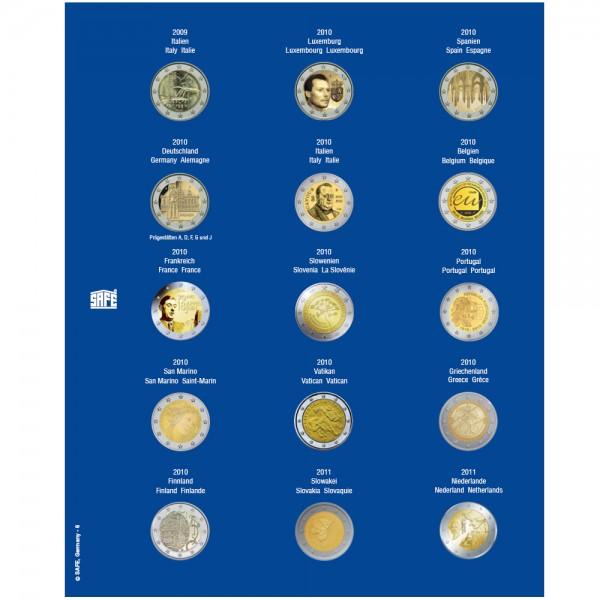 Feuille TOPset 2 € 2009-2011 - 7822-6