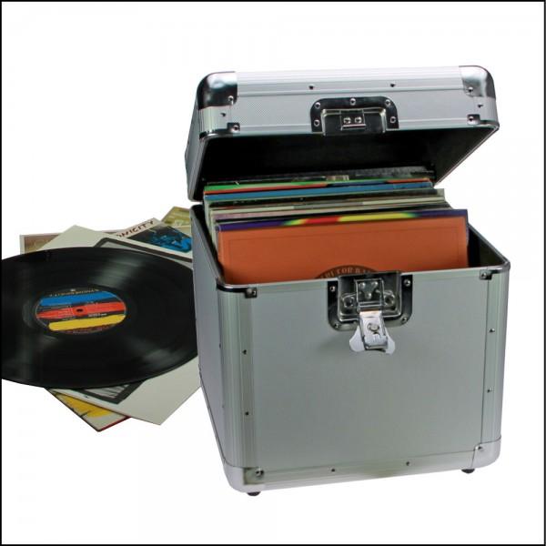 Coffre pour disques vinyle