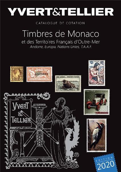 Catalogue Yvert Timbres de Monaco, Andorre 2020