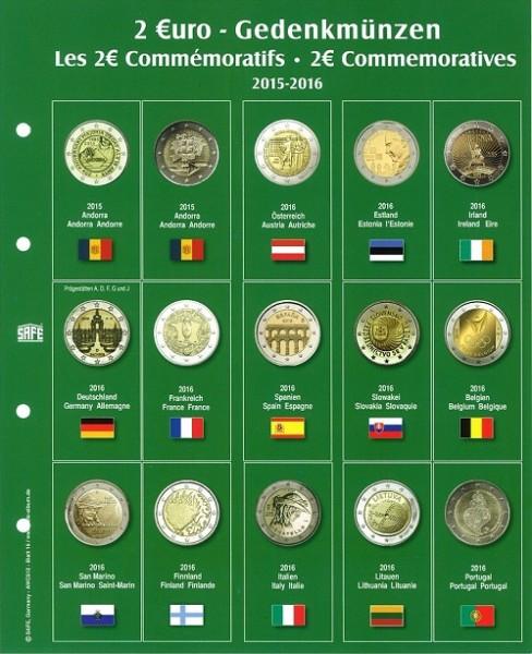 """Feuille """"Premium"""" 2 € - 2016"""