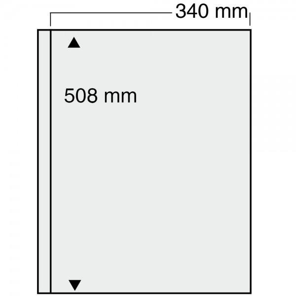 Feuilles Jumbo transparentes 6051