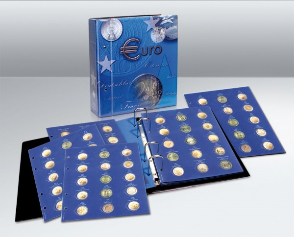 """Albums """"TOPset"""" pour pièces de 2 € de 2004 à mi-2020"""