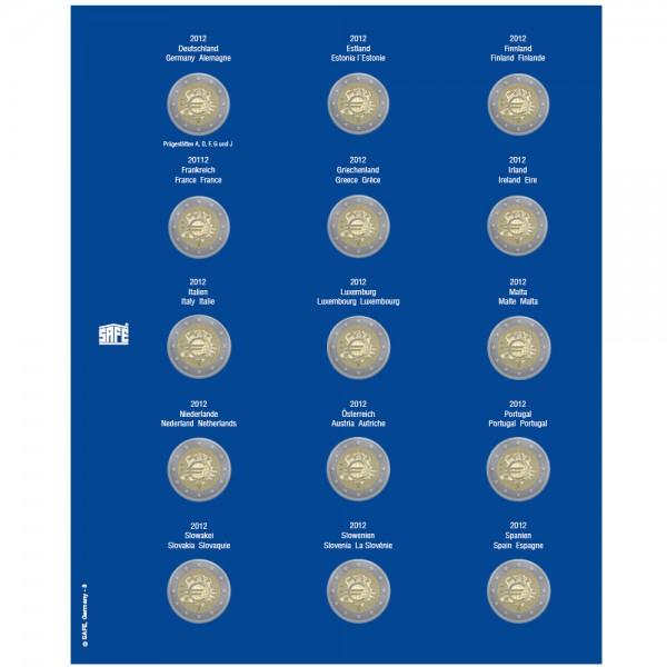 Feuille TOPset 2 € 2012