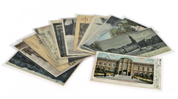 Etuis plastique pour cartes anciennes