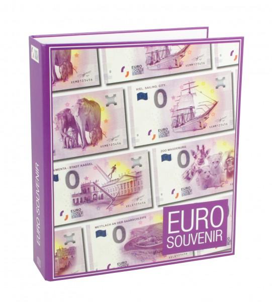 """Album Billets €uro Souvenir avec pages """"neutres"""""""