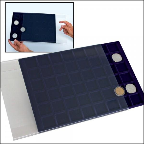 Protection pour plateaux numismatiques