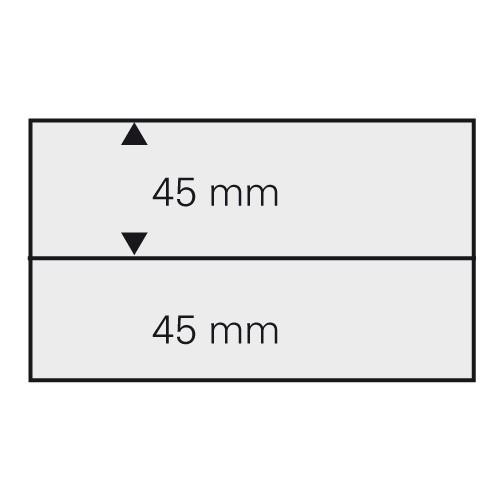 Cartes 148 x 105 mm à 2 bandes