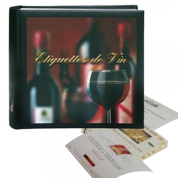 Album pour étiquettes de vin