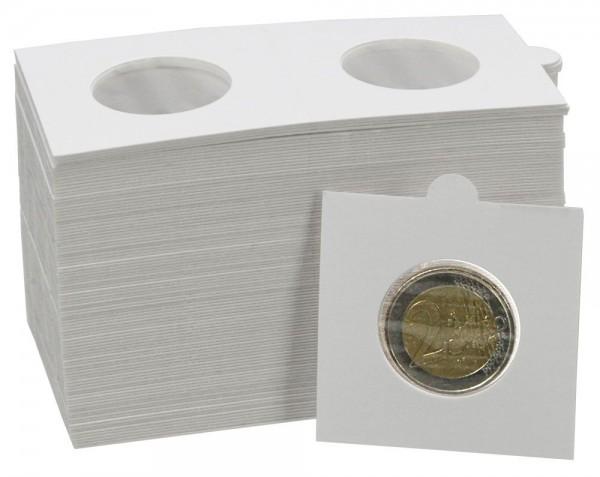 Etuis à agrafer pour monnaies, paquets de 25