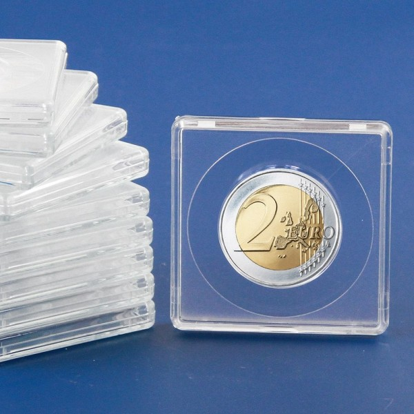 Les capsules « Square » pour monnaies