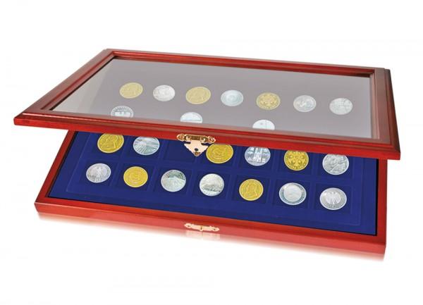 Vitrines en bois pour monnaies