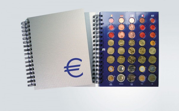 Classeur TOPset pour 25 séries d'Euros
